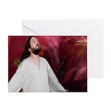 Meditation Jesus Greeting Card