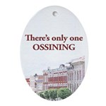 Ossining Oval Ornament