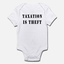Taxation is Theft Onesie