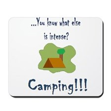 intense camping Mousepad
