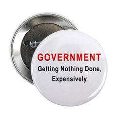 """Expensive Government 2.25"""" Button (100 pack)"""