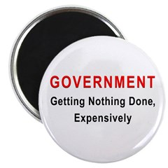 """Expensive Government 2.25"""" Magnet (10 pack)"""