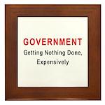 Expensive Government Framed Tile