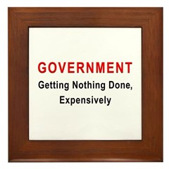 Expensive Government Framed Tile