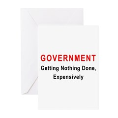 Expensive Government Greeting Cards (Pk of 20)