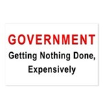 Expensive Government Postcards (Package of 8)