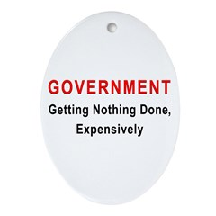 Expensive Government Oval Ornament