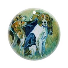 Moore County Hounds - Ornament (Round)