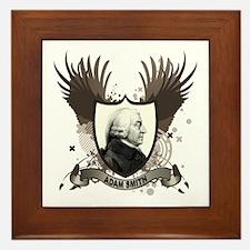 Adam Smith Framed Tile