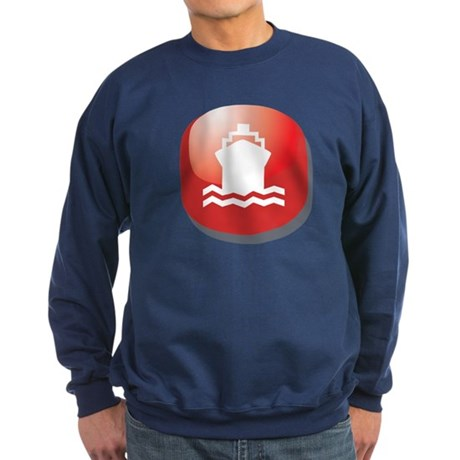 Vacation Cruise Ship Sweatshirt (dark)