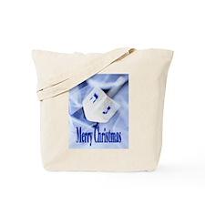 Christmas Dreidel Tote Bag