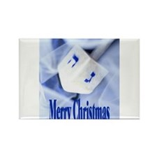 Christmas Dreidel Rectangle Magnet (100 pack)