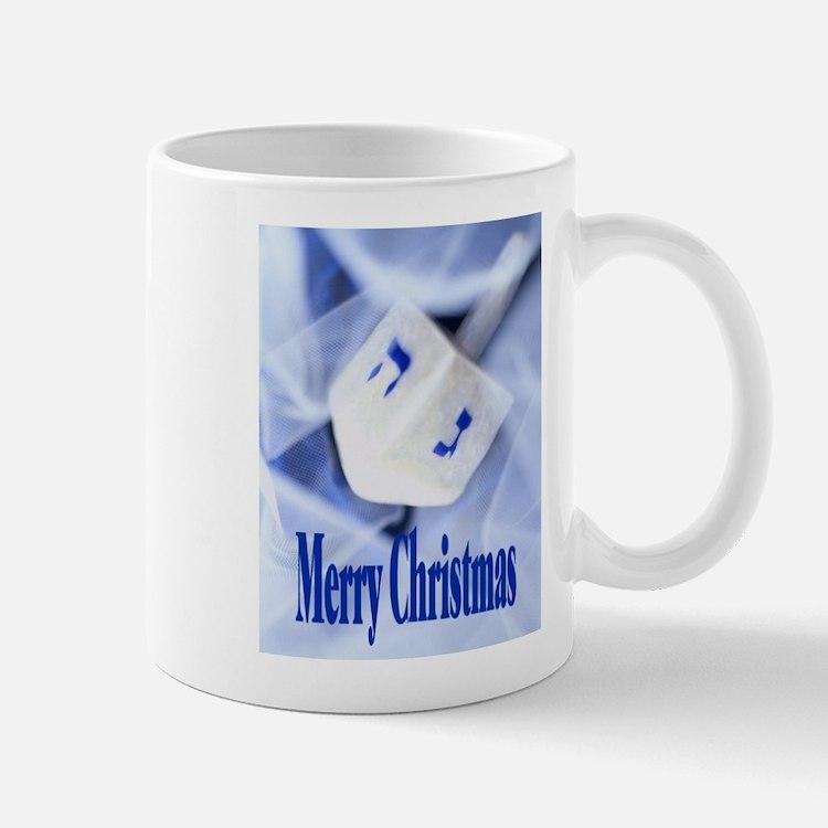 Christmas Dreidel Mug