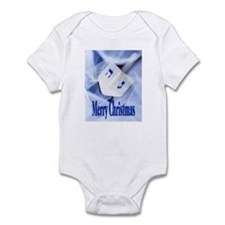 Christmas Dreidel Infant Bodysuit