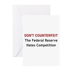 Don't Counterfeit Greeting Cards (Pk of 20)