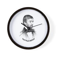 Ralph Waldo Emerson Wall Clock