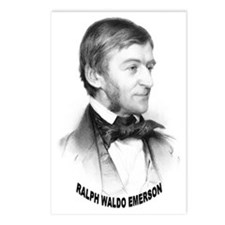 Ralph Waldo Emerson Postcards (Package of 8)