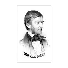 Ralph Waldo Emerson Rectangle Decal