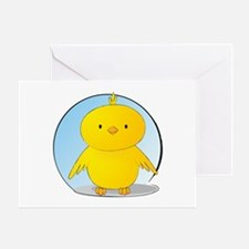 Whee! Chick v2.0 Greeting Card