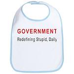 Stupid Government Bib