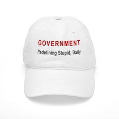 Stupid Government Cap