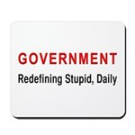 Stupid Government Mousepad