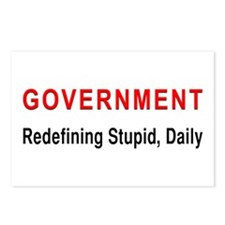 Stupid Government Postcards (Package of 8)