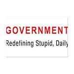 Stupid Government Mini Poster Print