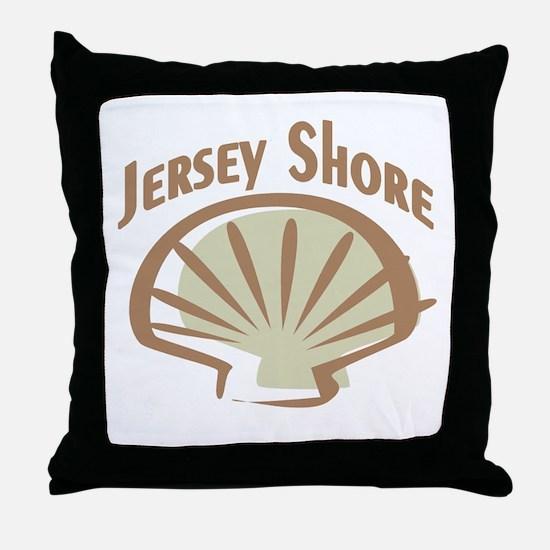 Jersey Shore Throw Pillow