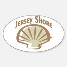 Jersey Shore Oval Decal