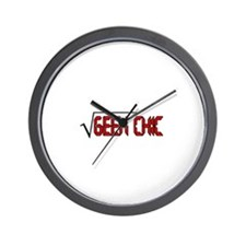 Geek Chic Wall Clock