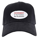 Government is the problem Black Cap