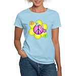Peace Blossoms /pink Women's Light T-Shirt