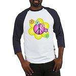 Peace Blossoms /pink Baseball Jersey