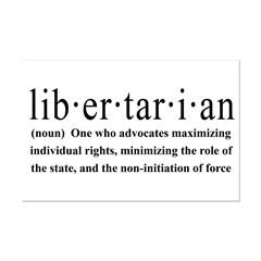 Libertarian Definition Posters