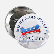 Bark Obama Christmas Carol button