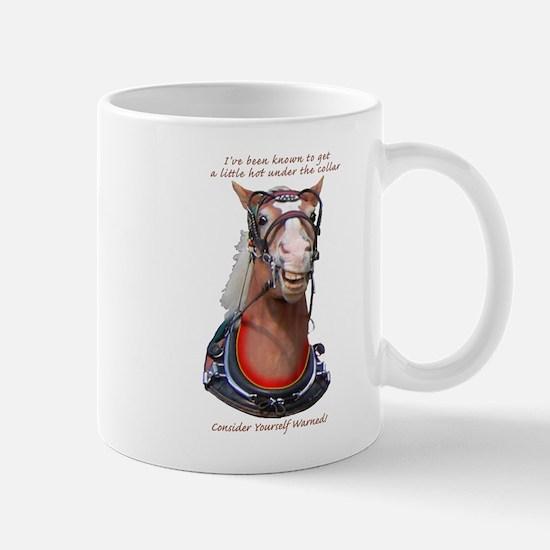 Hot Collar Belgian Draft Horse Mug