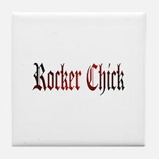 Rocker Chick Tile Coaster