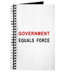 Government Equals Force Journal