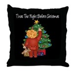 Twas the Night Before Christmas Throw Pillow