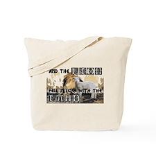Twilight Movie Lion Lamb Tote Bag