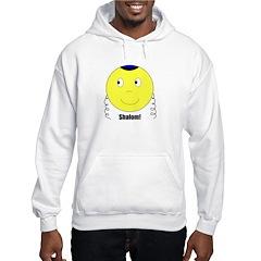 Jewish Rabbi Smiley Face Hoodie