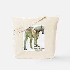 Big Butt Belgian Tote Bag