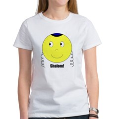 Jewish Rabbi Smiley Face Women's T-Shirt