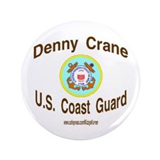 "DENNY COAST GUARD 3.5"" Button"