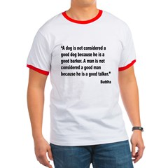 Buddha Good Talker Quote T
