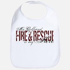 Girlfriend My Hero - Fire & Rescue Bib
