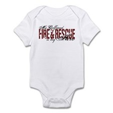 Girlfriend My Hero - Fire & Rescue Infant Bodysuit