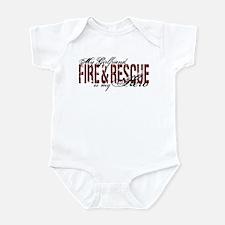 Girlfriend My Hero - Fire & Rescue Infant Bodysuit