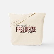 Girlfriend My Hero - Fire & Rescue Tote Bag